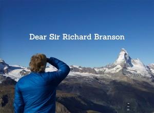 Dear Sir Richard